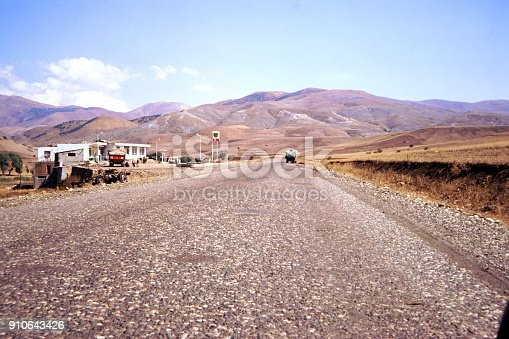 Turkey, June 1974. A highway in eastern Anatolia.