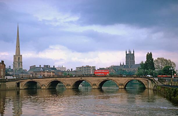 Die Severn Bridge in Worcester, UK – Foto