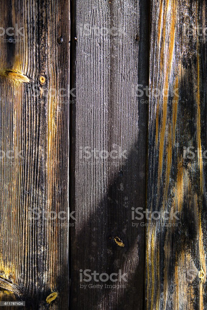 The Shadow on wooden texture with edgewise and knots structure stock photo