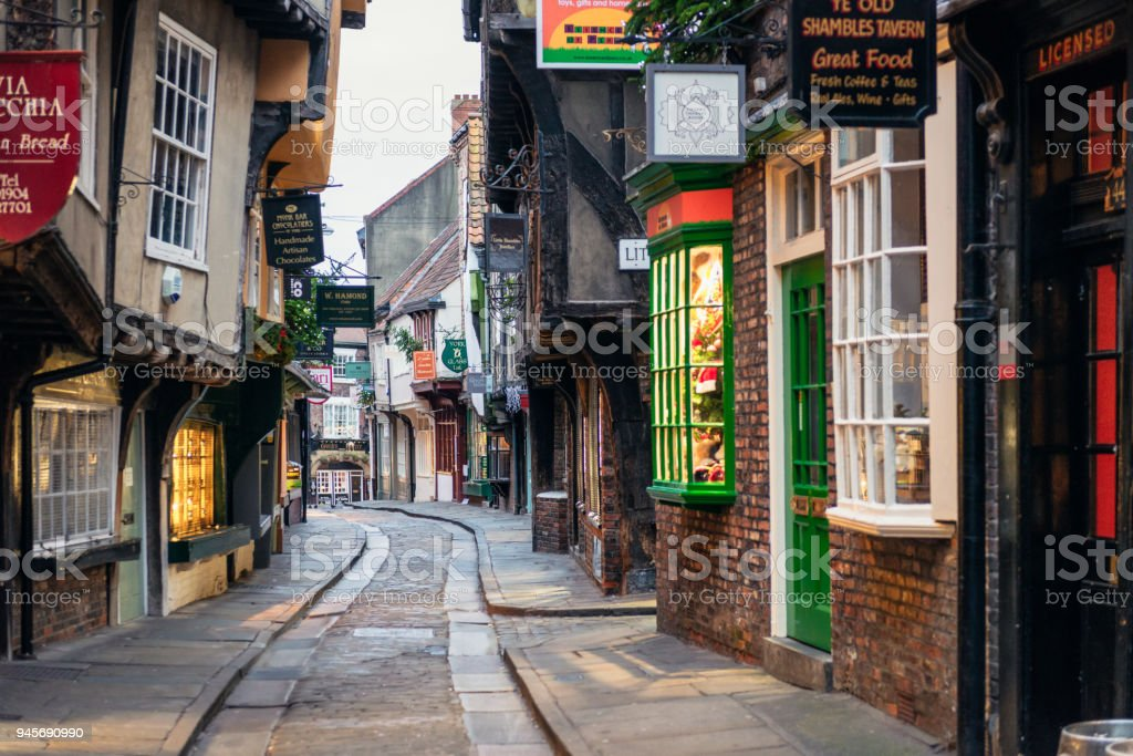 the shambles in york england stock photo more pictures of alley