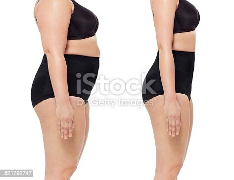 521792753 istock photo The shape of a real woman 521792747