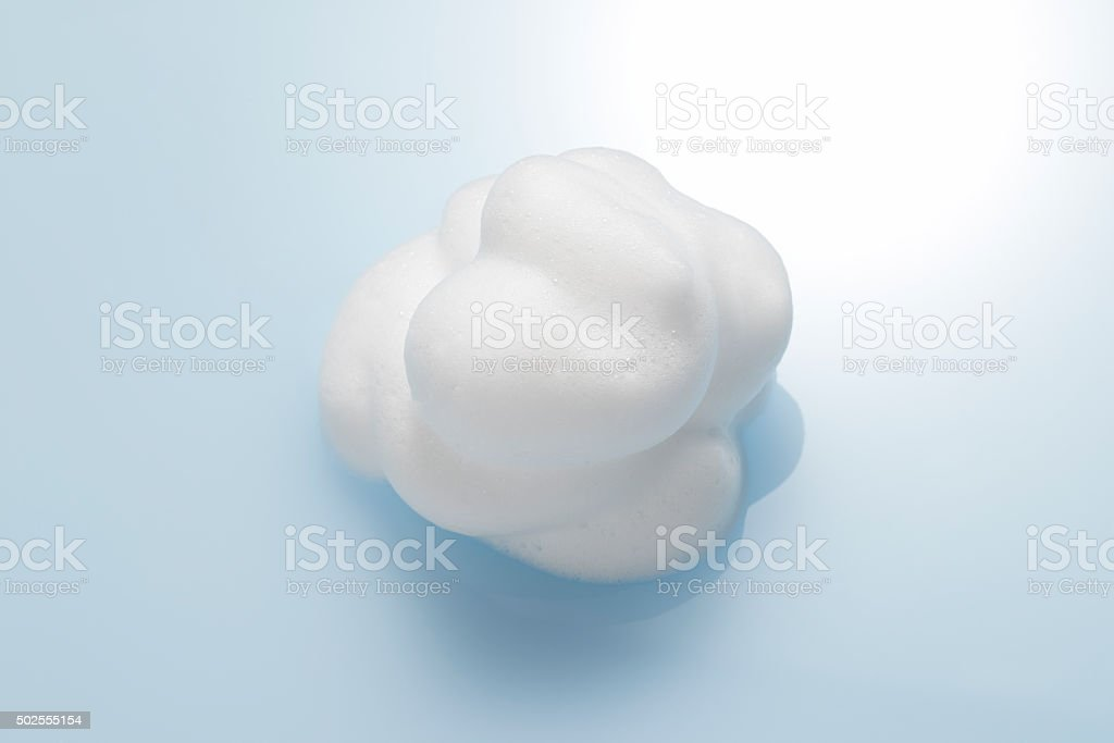 The shape of the bubble stock photo