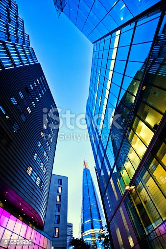 istock The Shard in Central London at dusk 510564936