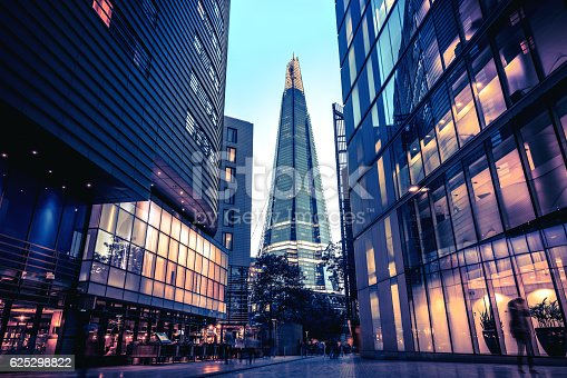 istock The Shard in Central London at dusk 625298822
