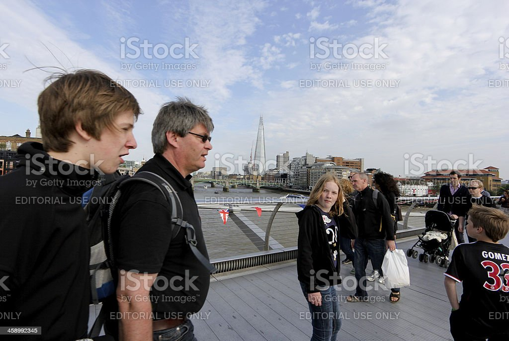 The Shard in London, England royalty-free stock photo