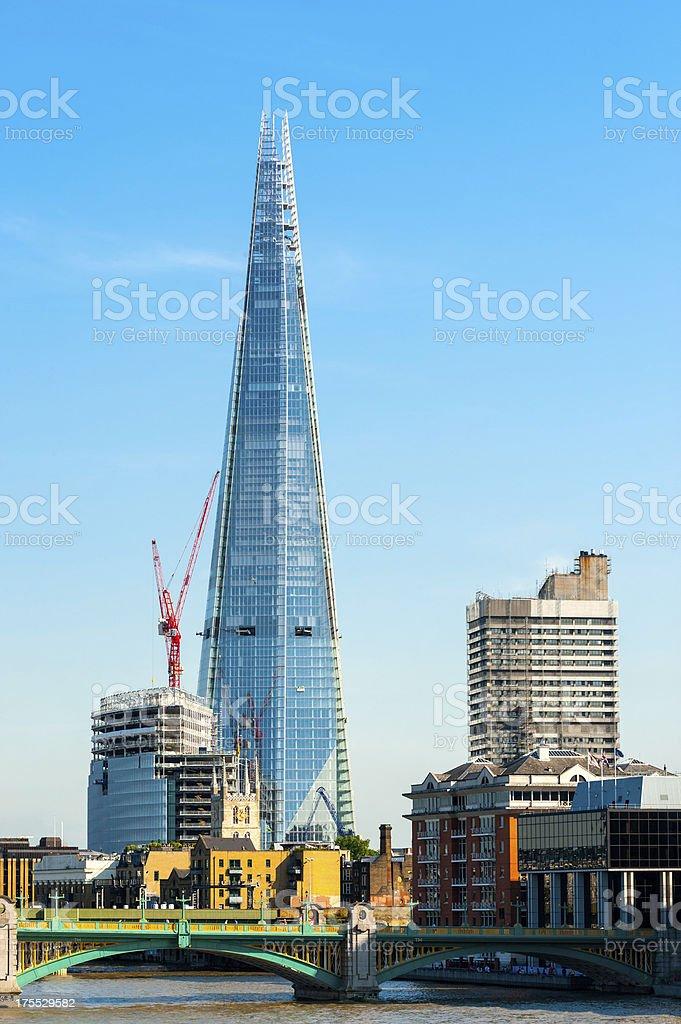 The Shard, London, England royalty-free stock photo