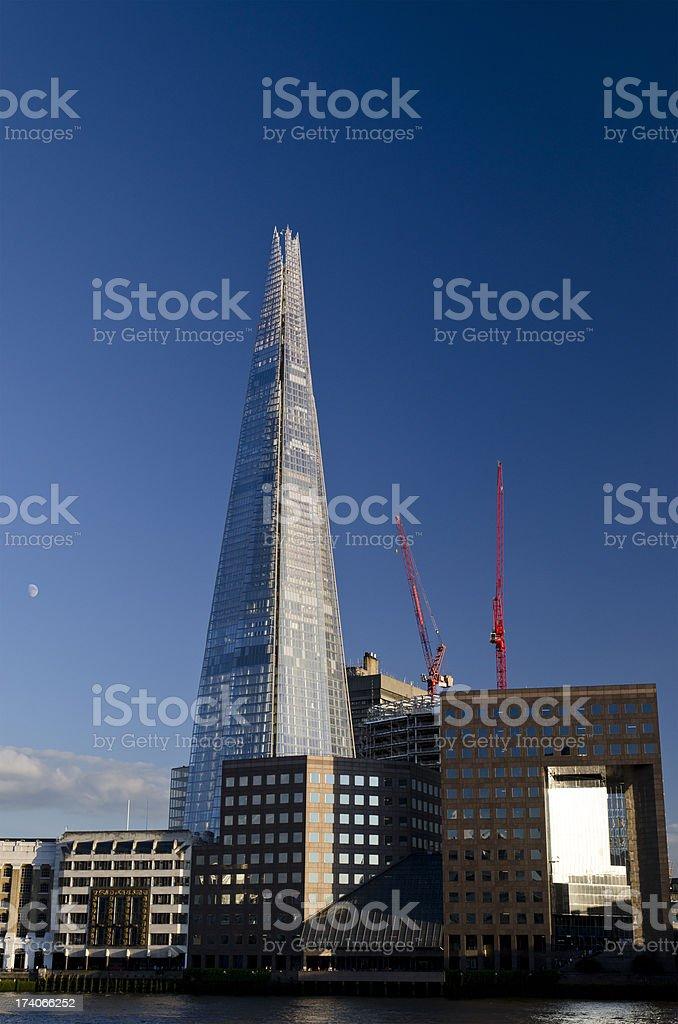 The Shard skyscraper, central London stock photo