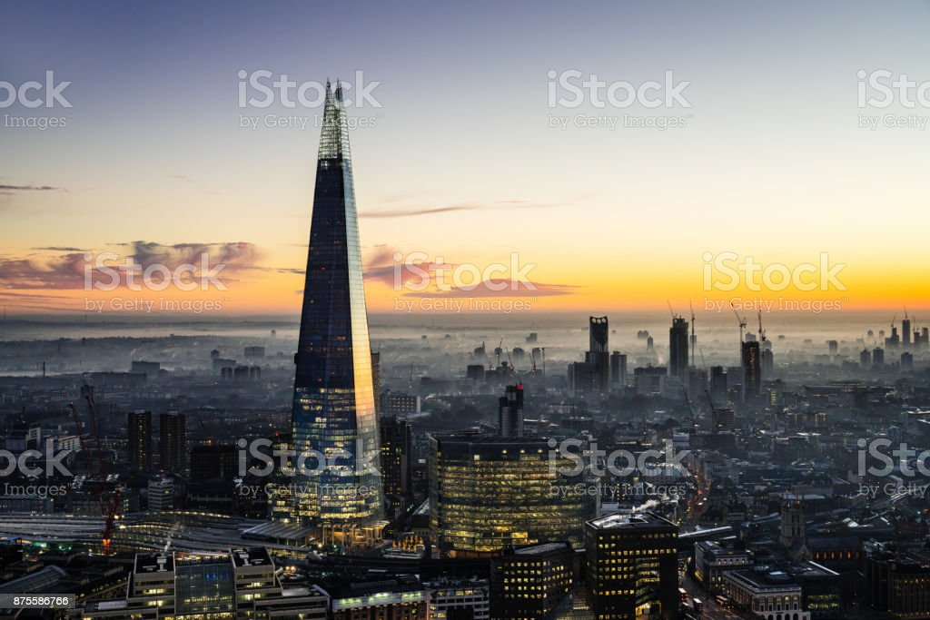 The Shard Wolkenkratzer in London – Foto