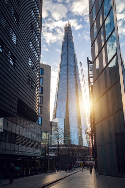 The Shard Skyscraper, London stock photo