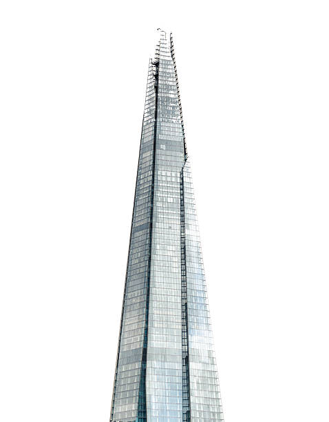 the shard tower - shard london bridge stockfoto's en -beelden