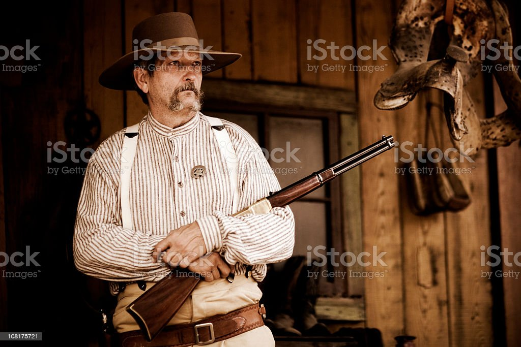 The Sheriff stock photo