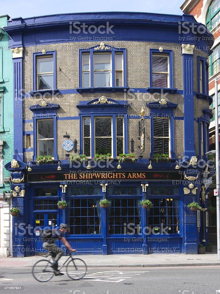 'The Shipwrights Arms' Classic English Pub stock photo
