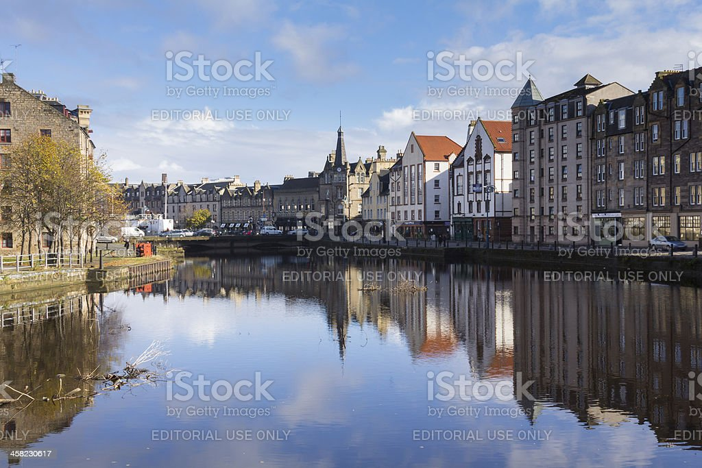 La costa de Leith - foto de stock