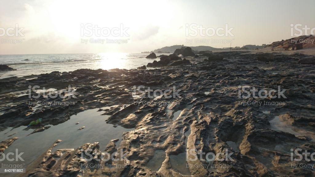 The Shore stock photo
