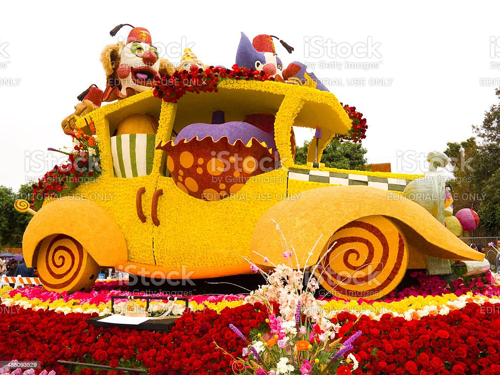 The Shriners Hospitals for Children Float stock photo