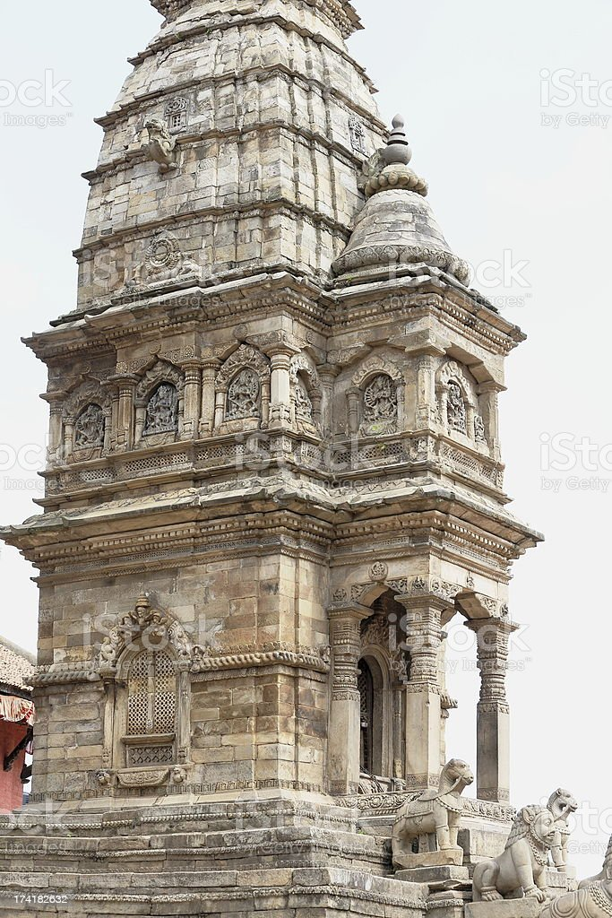 The Siddhi Lakshmi or Lohan Dega temple-Bhaktapur-Nepal. 0267 royalty-free stock photo