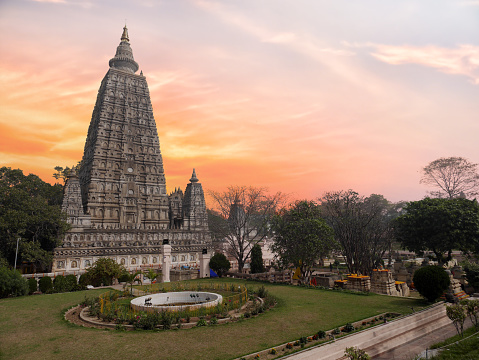 istock The side view of the stupa at Mahabodhi Temple Complex in Bodh Gaya, India. The Mahabodhi Vihar is a UNESCO World Heritage Site. 923634730