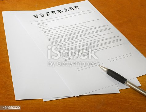 istock the signing of a legal document 494950000