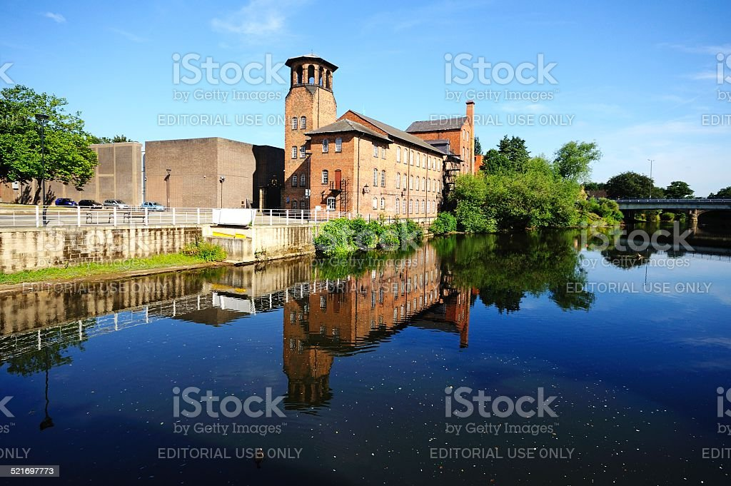 The Silk Mill, Derby. stock photo