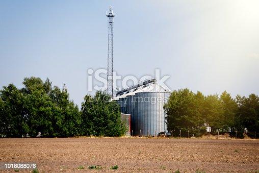 the silo in Brandenburg
