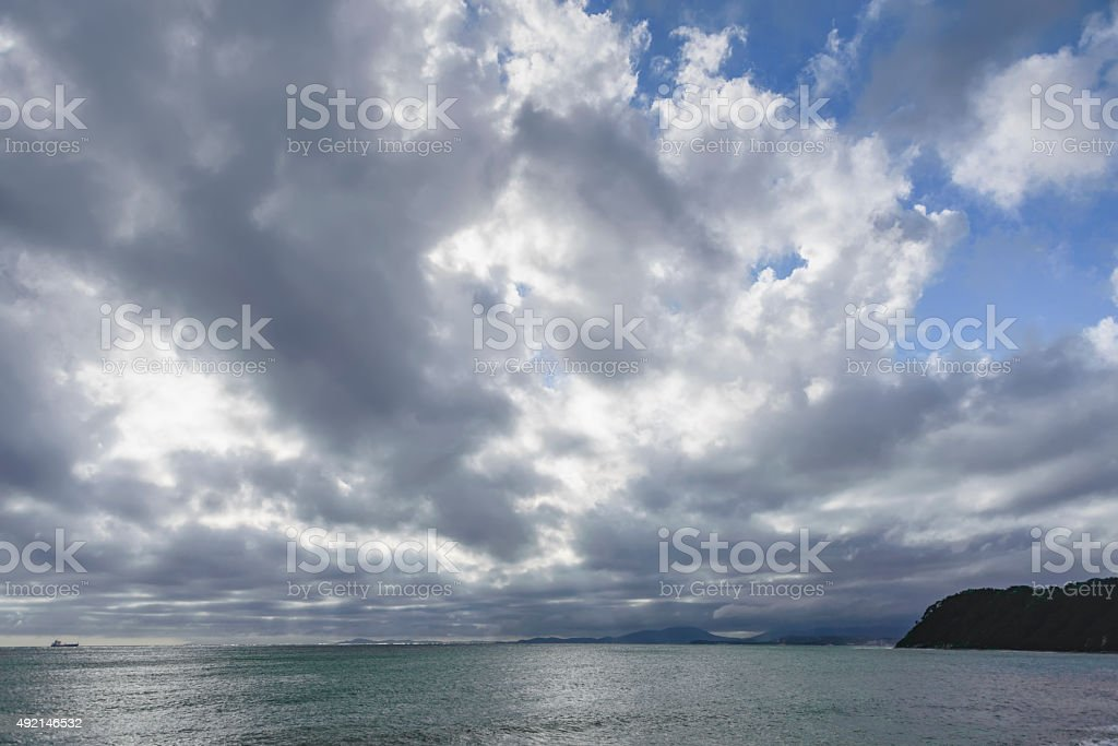 The sky after the storm . stock photo