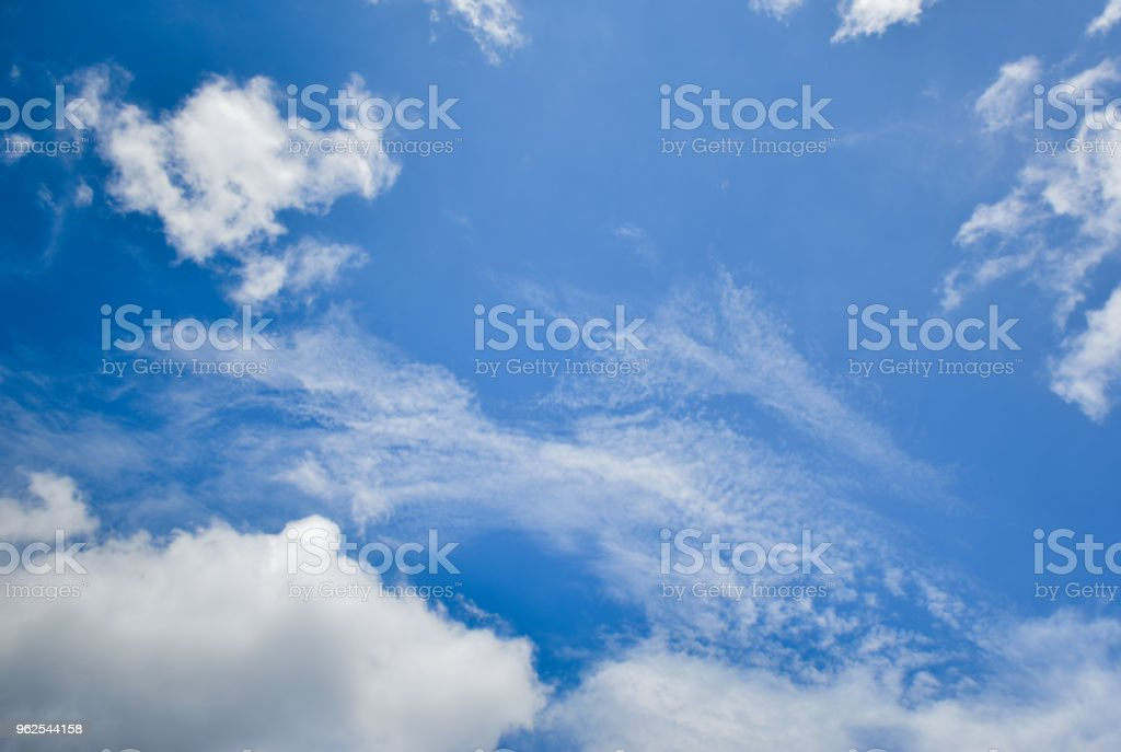 The sky and cloud beautiful. - Royalty-free Beauty Stock Photo