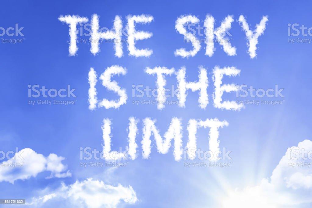 The Sky Is The Limit Stockfoto Und Mehr Bilder Von 2018 Istock