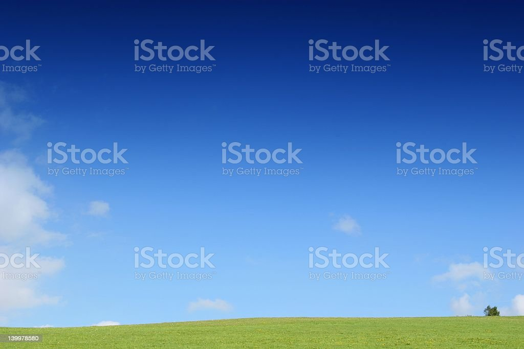 The sky is yours royalty-free stock photo