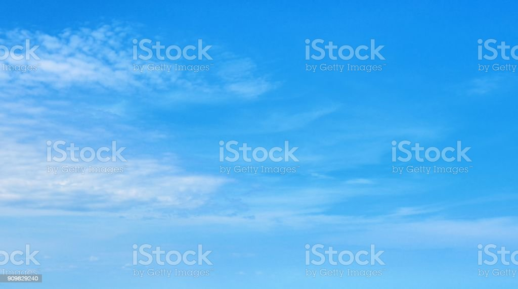 The sky with clouds beatiful Sunset background stock photo