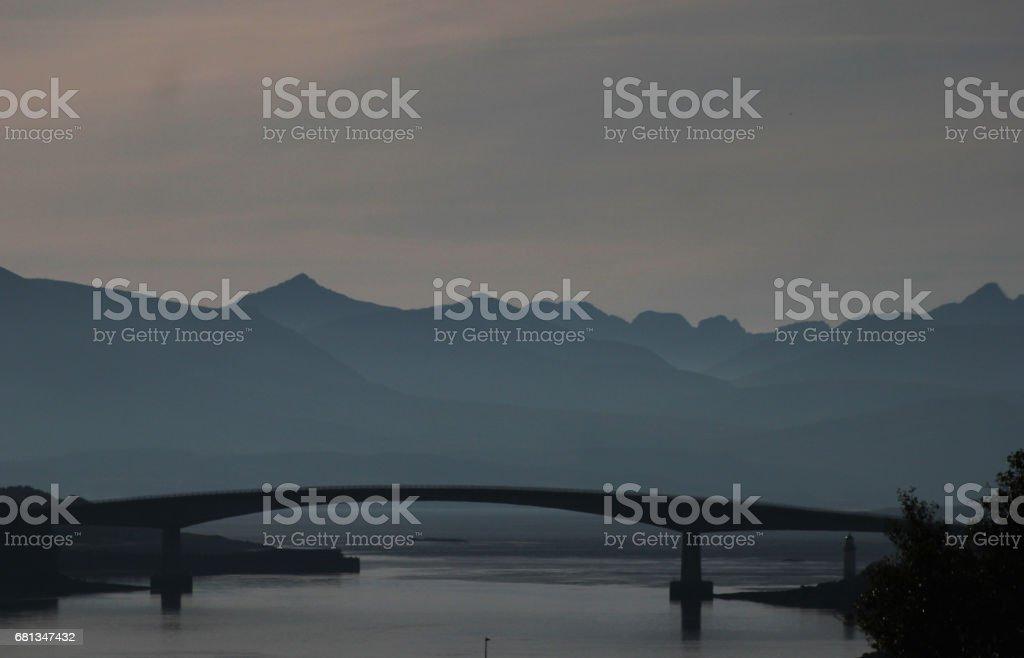 The Skye Bridge stock photo