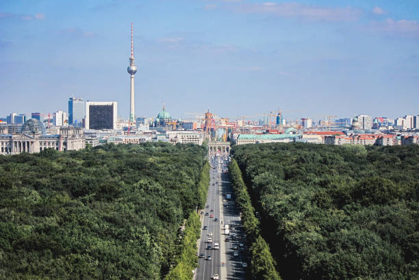 Die Skyline von Berlin – Foto