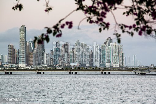 Panama City has an impressive skyline of glimmering skyscrapers, reaching higher and higher into heavens.