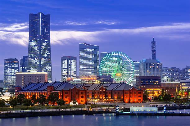 横浜の街並み - 各国の観光地 ストックフォトと画像
