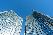 The skyscrapers in  the Isola district in Milan