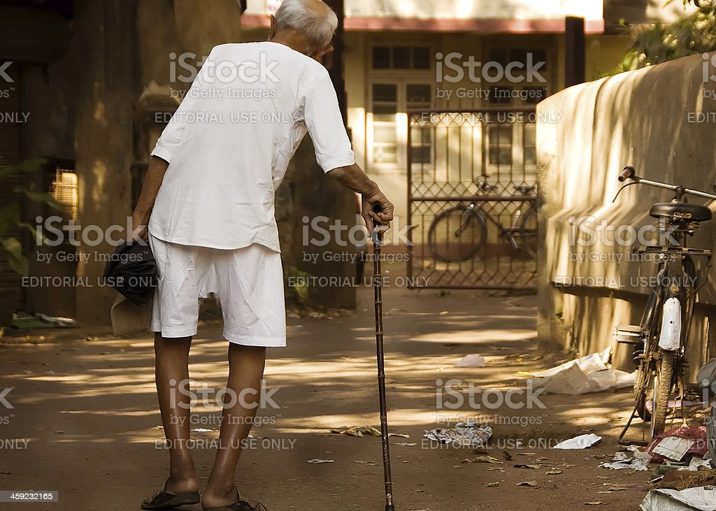 The Slums of Mumbai stock photo