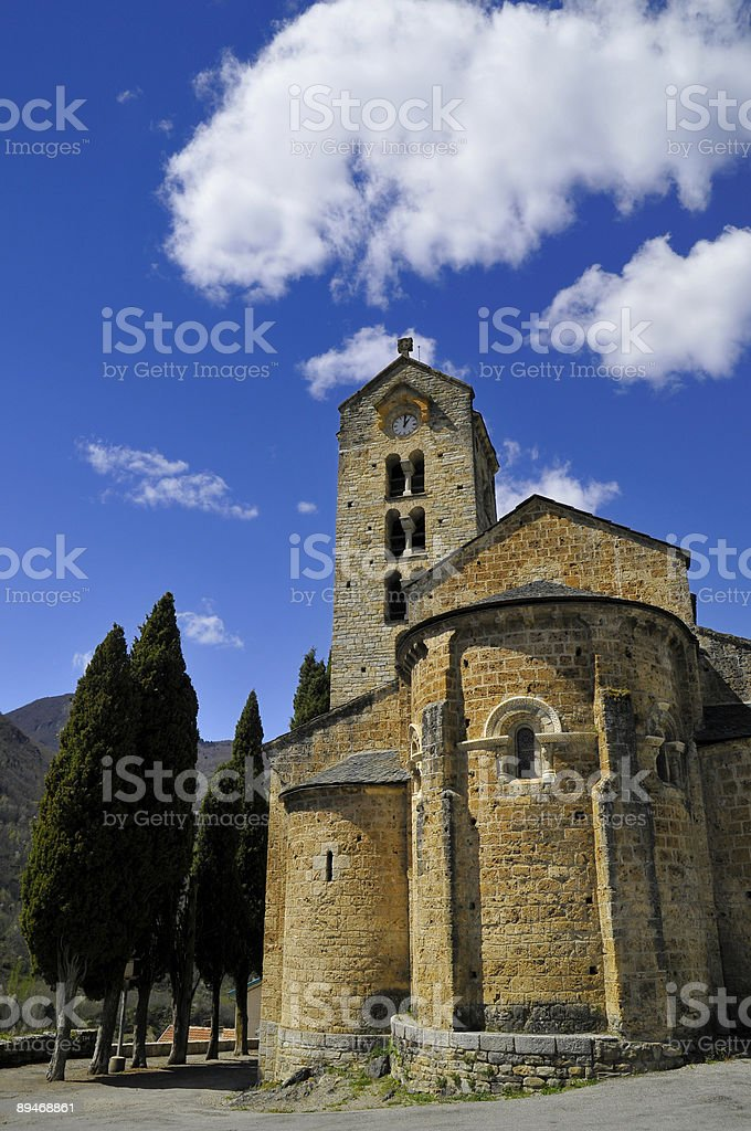 The small chapel royalty-free stock photo