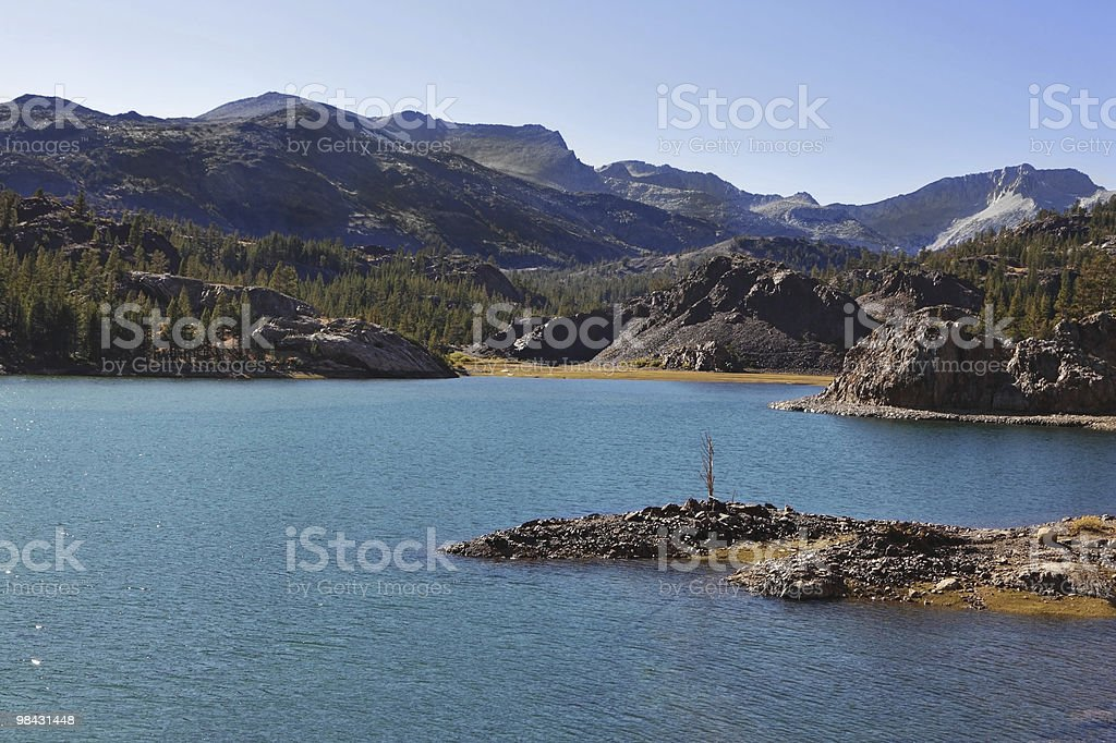 The small picturesque island royalty-free stock photo