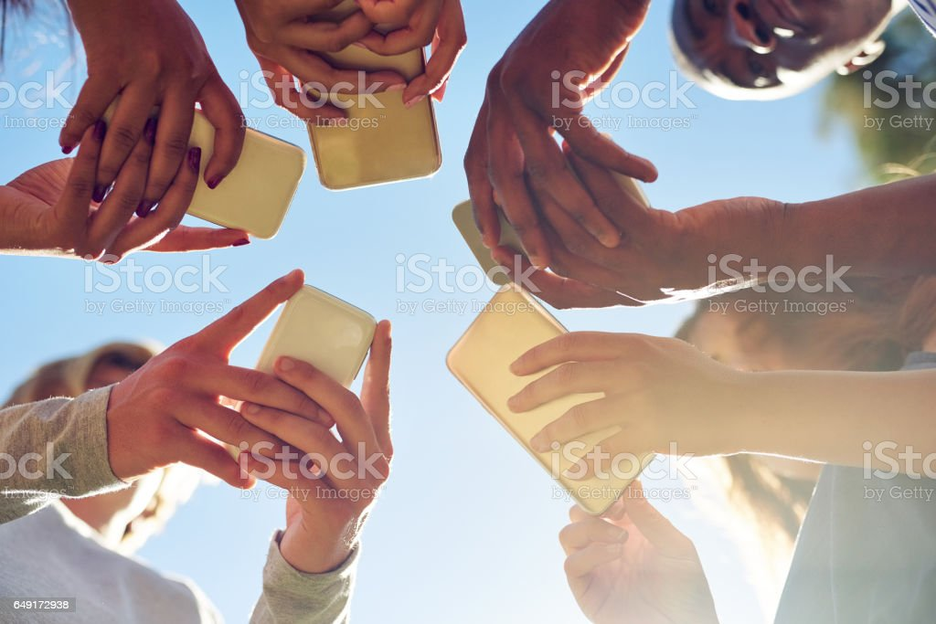 The smart generation stock photo