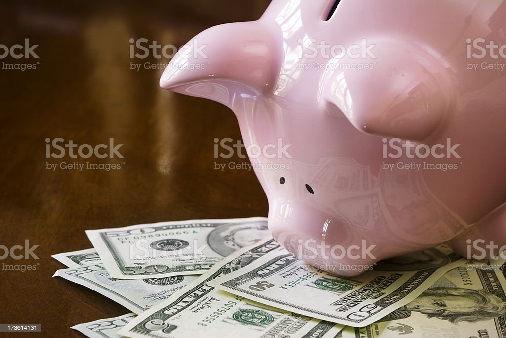 The smell of money royalty-free stock photo