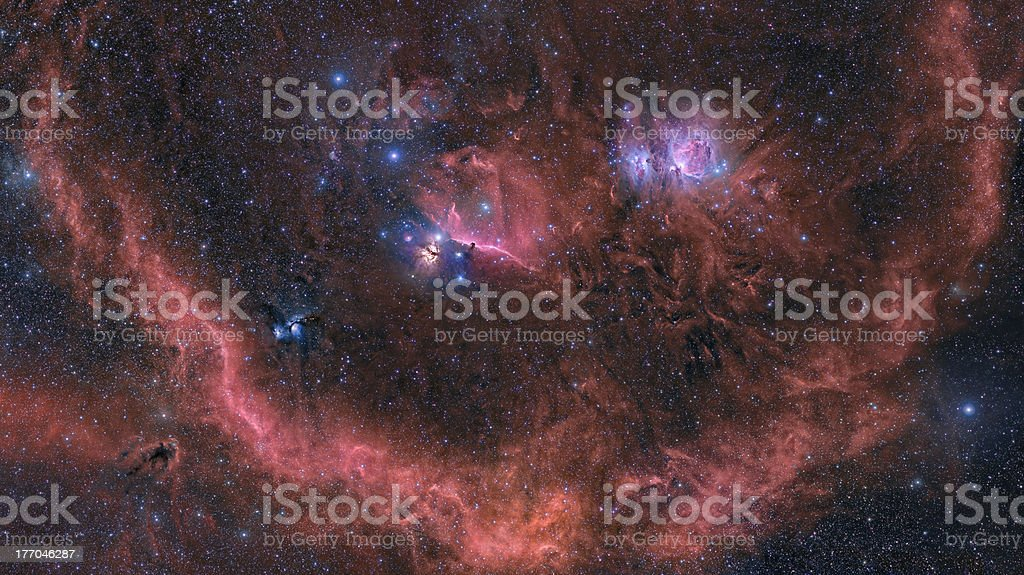 The Smile of Orion royalty-free stock photo