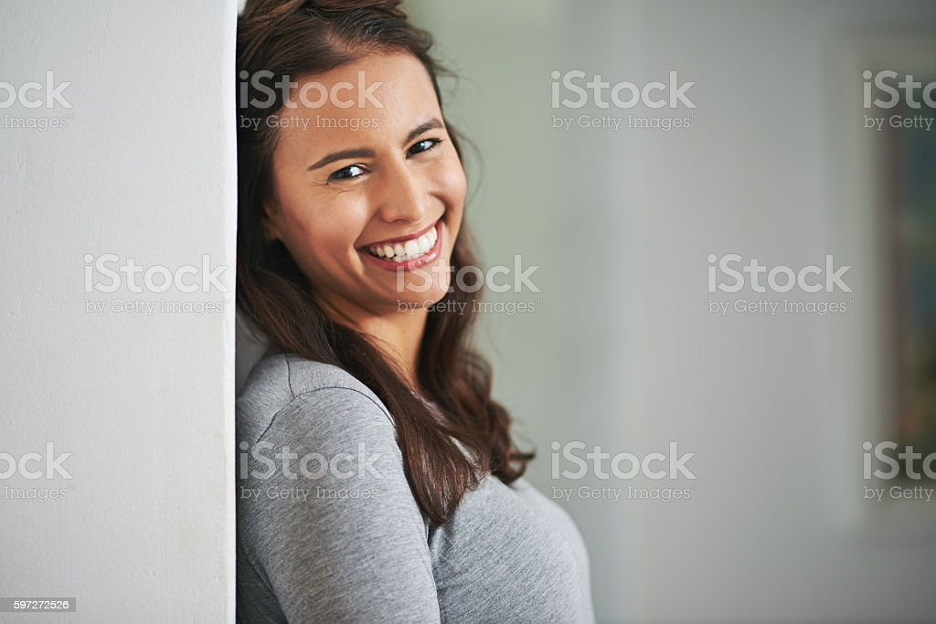 The smile that won a million hearts royalty-free stock photo