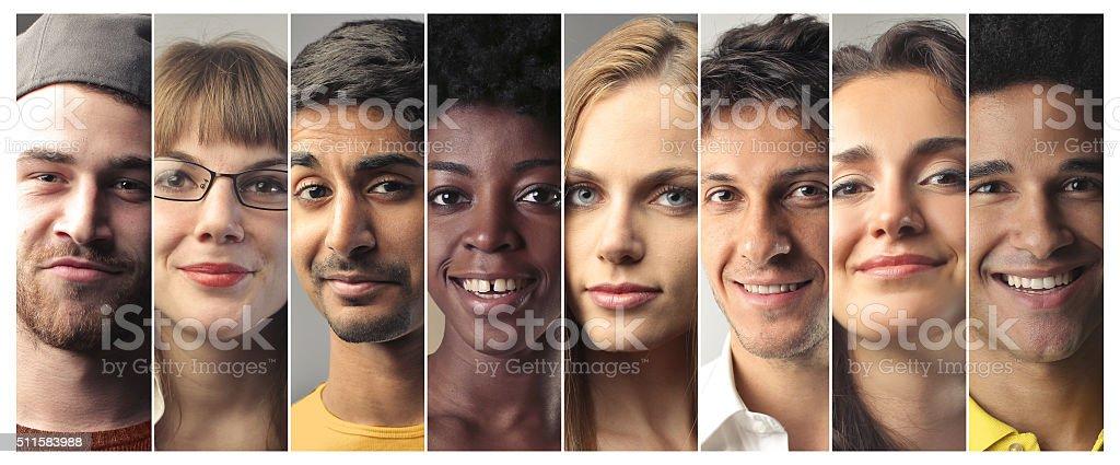 The Smiles stock photo