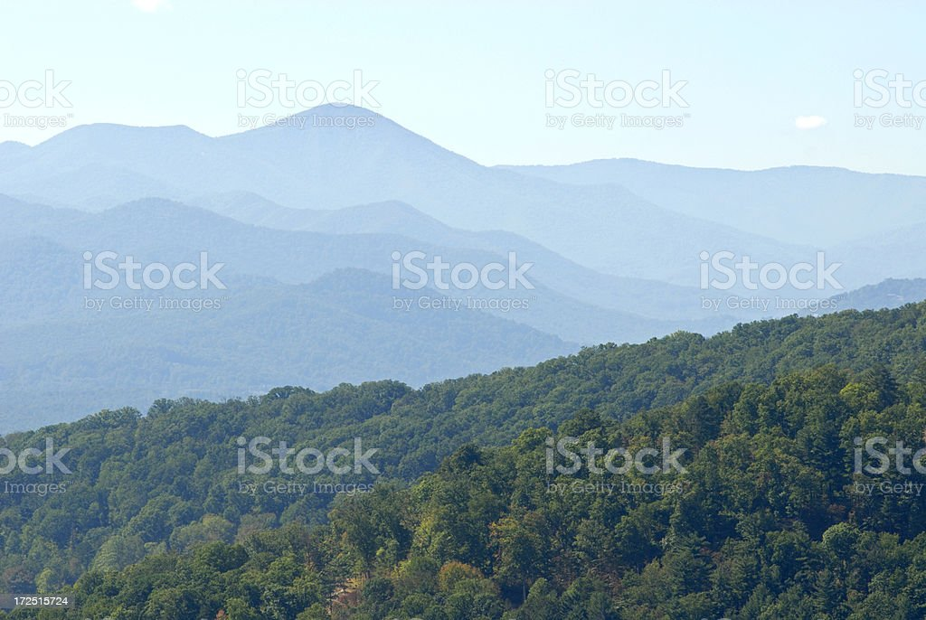 The Smoky Mountains royalty-free stock photo