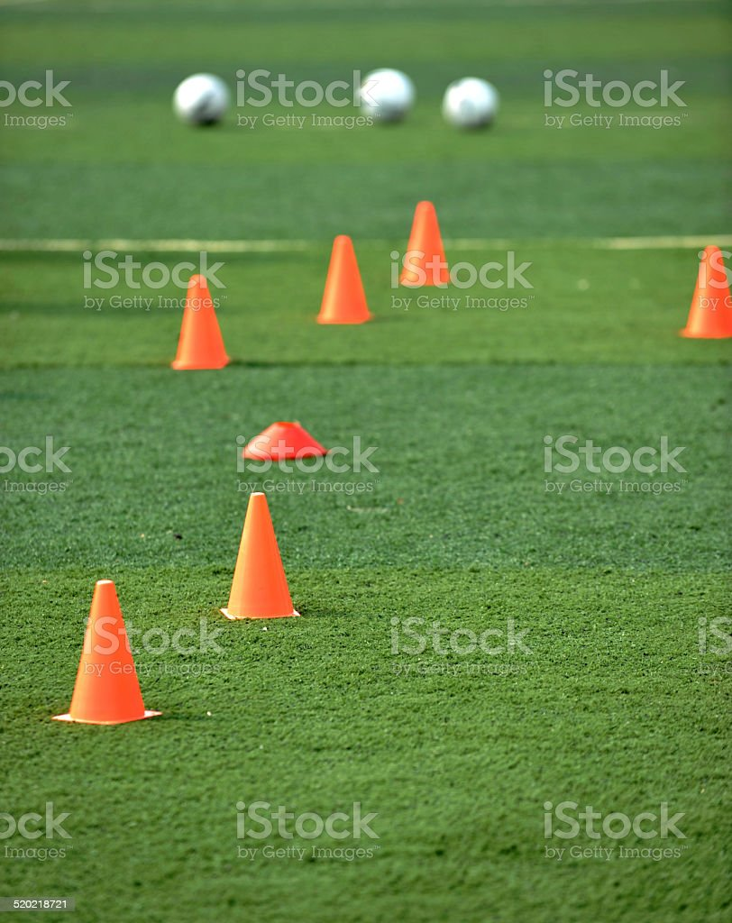 the soccer field stock photo