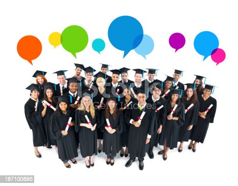 istock The Social Media Of Graduation 187100895