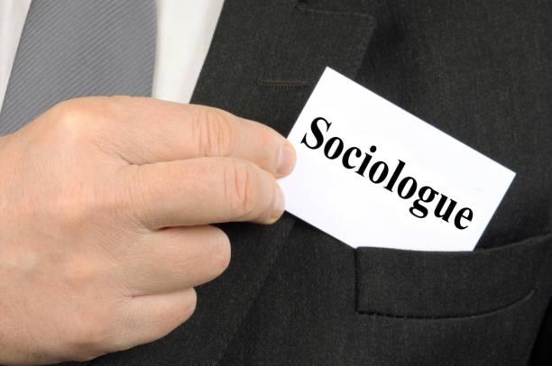 der soziologe - soziologie stock-fotos und bilder