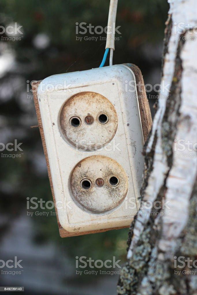 The socket the extender stock photo