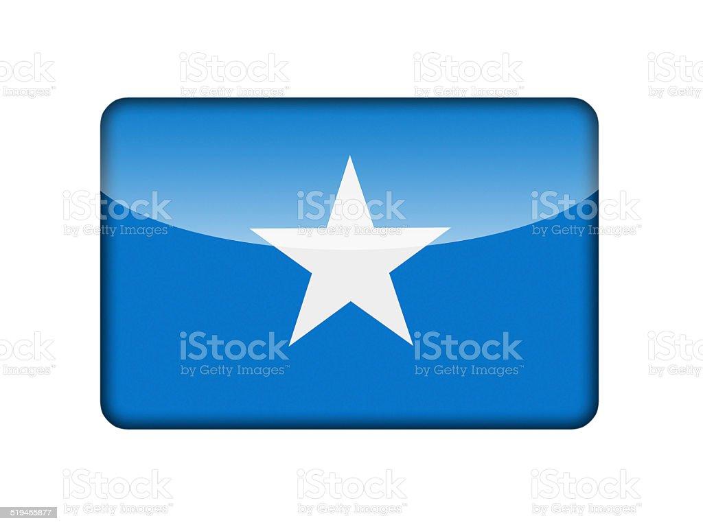 The Somalia flag stock photo