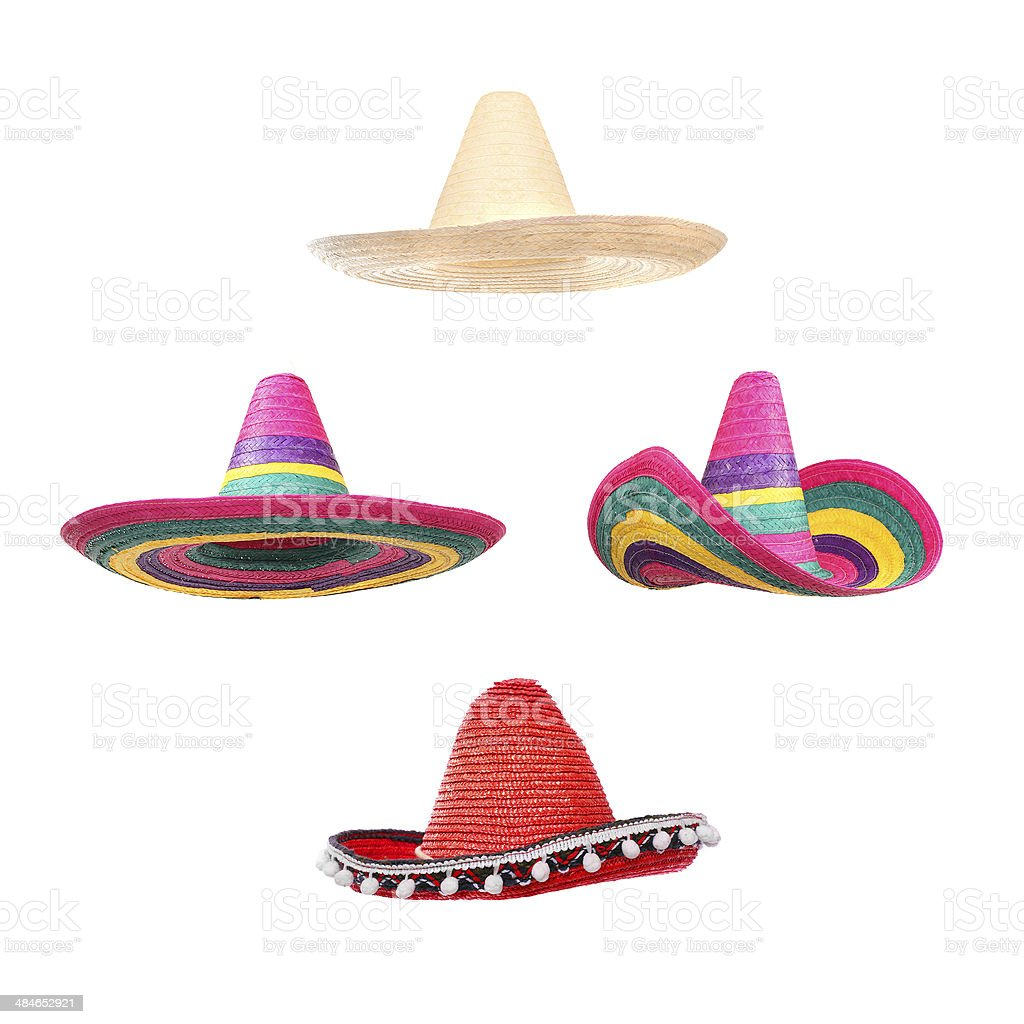 The Sombreros. stock photo