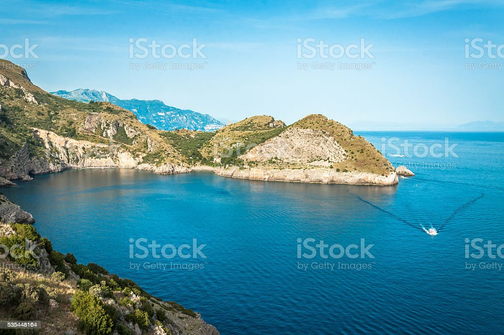 The Sorrento Peninsula stock photo